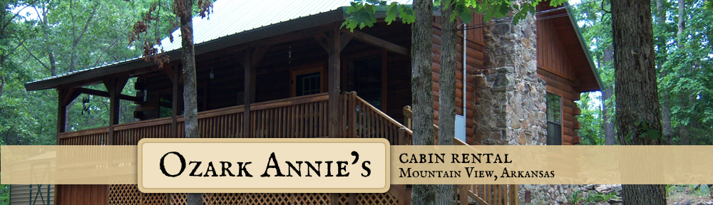 Mountain View, Ar Cabin Lodging